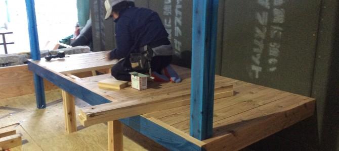 木パネルの組み立て|ショウガーデンの基本